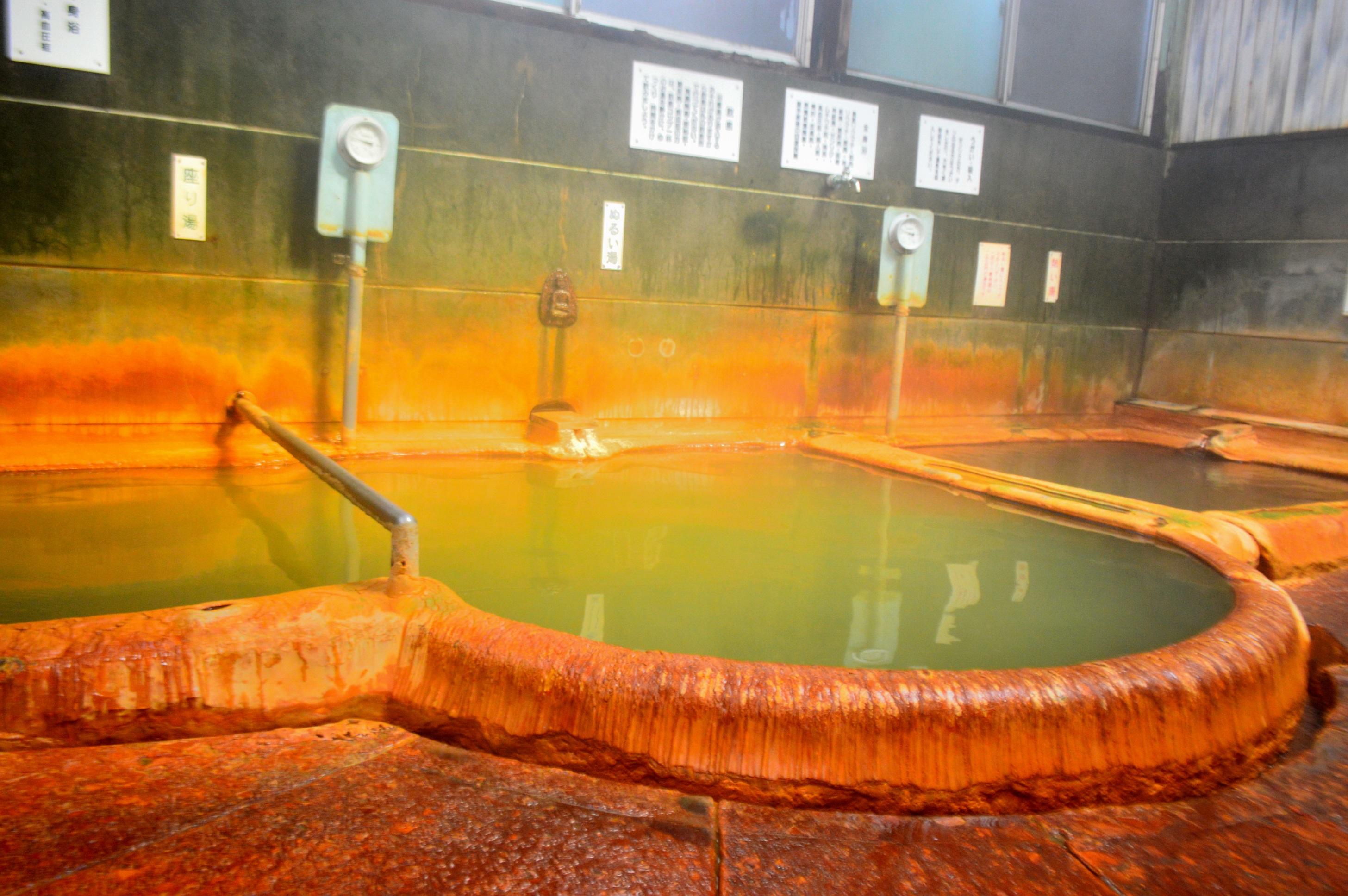 温泉津温泉「泉薬湯」浴槽