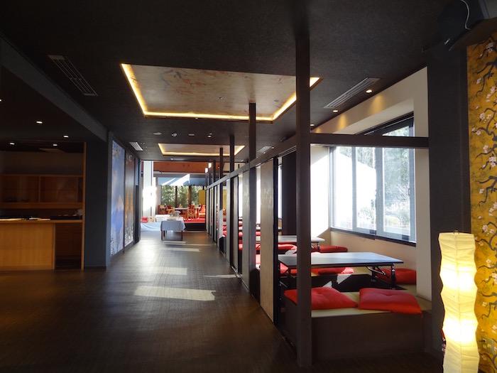 The Ryokan Tokyo YUGAWARA lobby 開放的