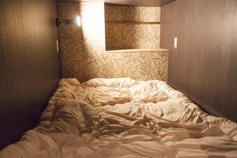 The Ryokan Tokyo YUGAWARA dormitory bed