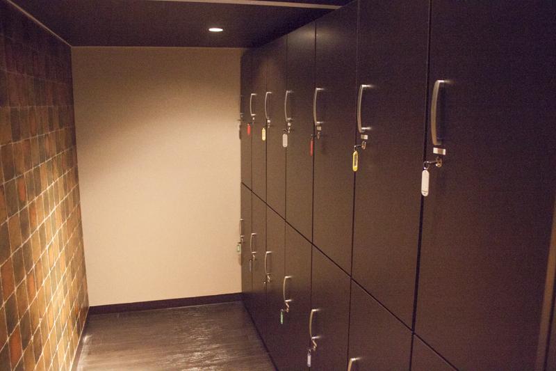 The Ryokan Tokyo YUGAWARA dormitory locker