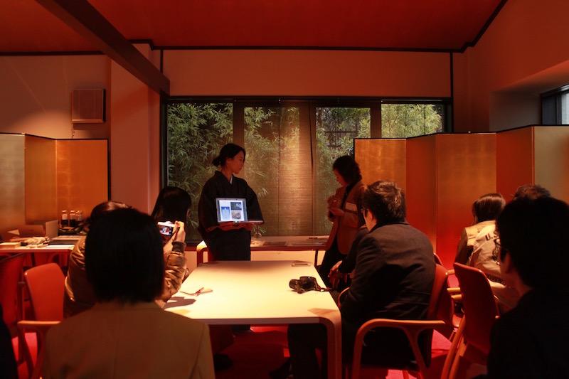 The Ryokan Tokyo YUGAWARA Japanese cultural lecture