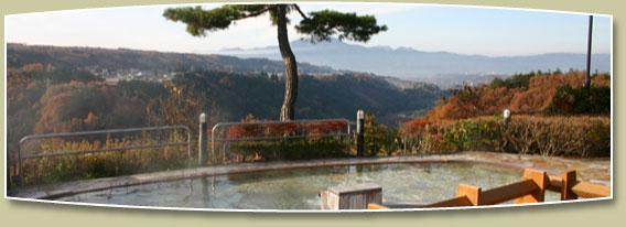 望郷の湯 露天風呂