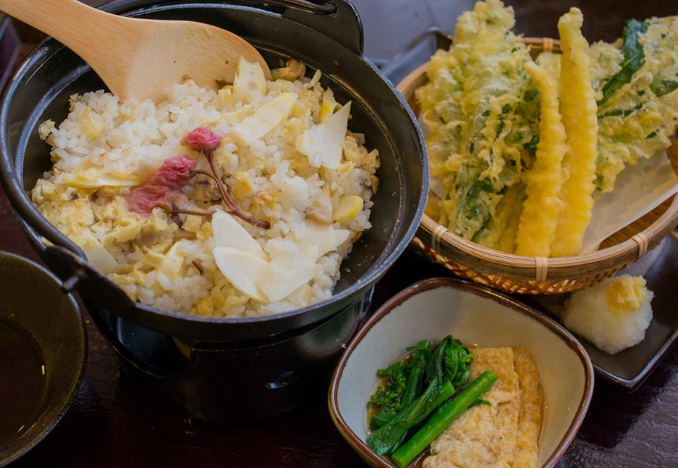 白寿の湯 郷土料理