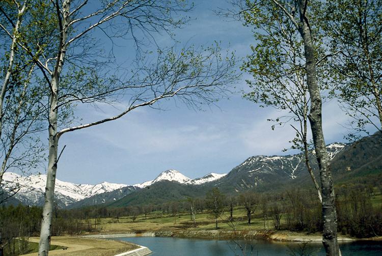 猿 温泉 のある上信越高原国立公園の写真