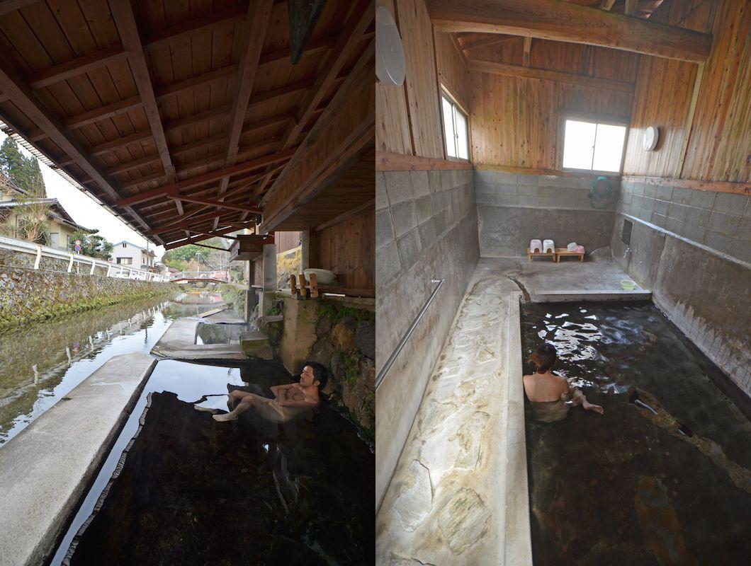 川湯と上湯の写真