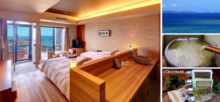琉球温泉 瀬長島ホテル露天風呂付き客室