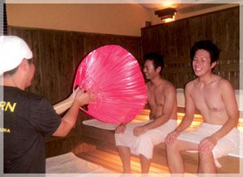 琉球温泉 瀬長島ホテル「龍神の湯」サウナのロウリュ