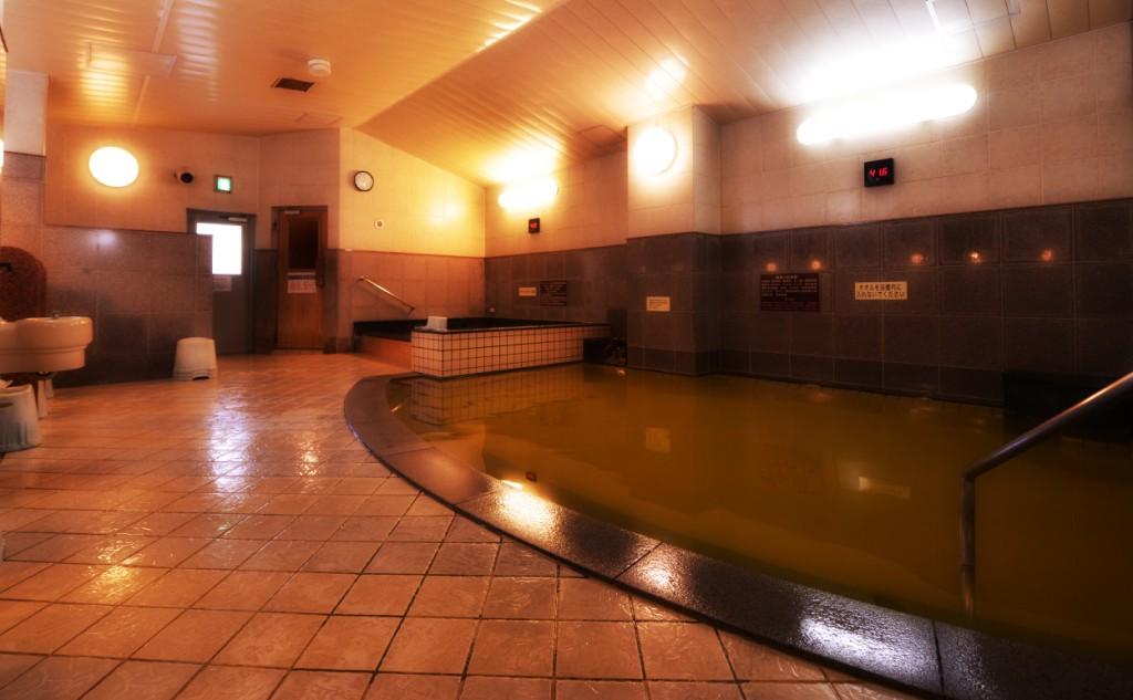 早朝からお風呂を楽しめる ホテルパコジュニアススキノ ( プレミアホテル キャビン札幌 )の内湯