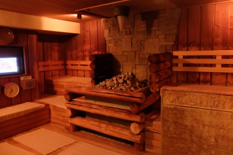 荻窪 なごみの湯 マイナスイオンロッキーサウナ室内の写真