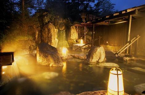 草津ビッグバス 露天風呂