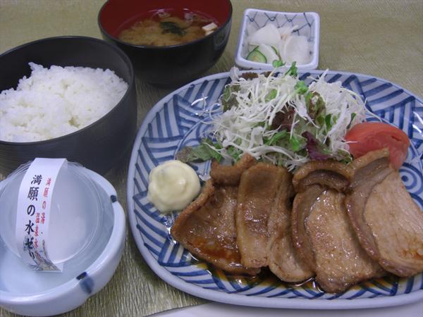 埼玉県 秩父温泉 満願の湯 料理の写真