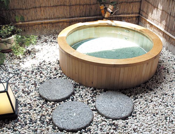 ホテル川端 露天風呂