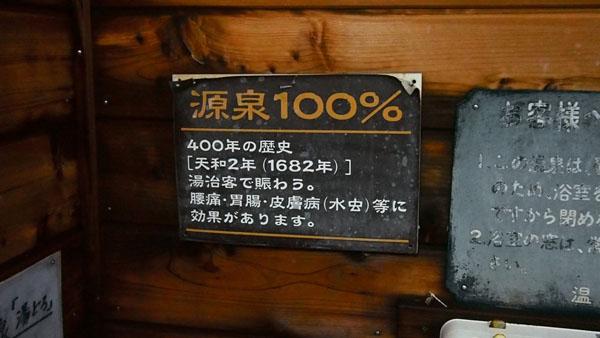 源泉100%