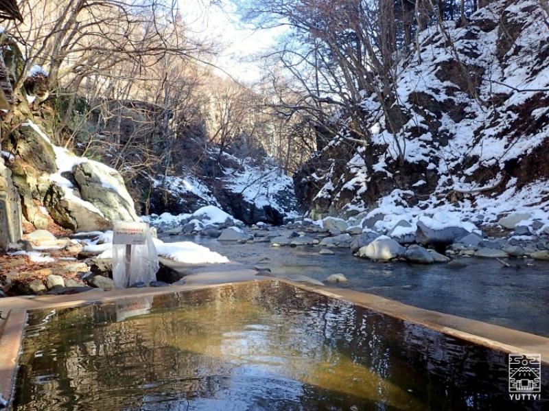 塩原温泉 明賀屋本館 女性専用の露天風呂の写真
