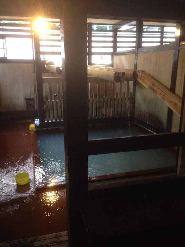 鳴子温泉「滝の湯」の写真