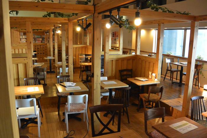 おふろcafeカフェスペース