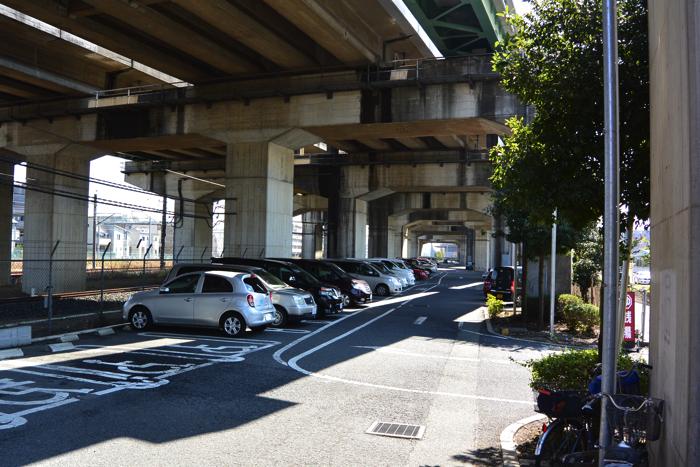 おふろcafe駐車場