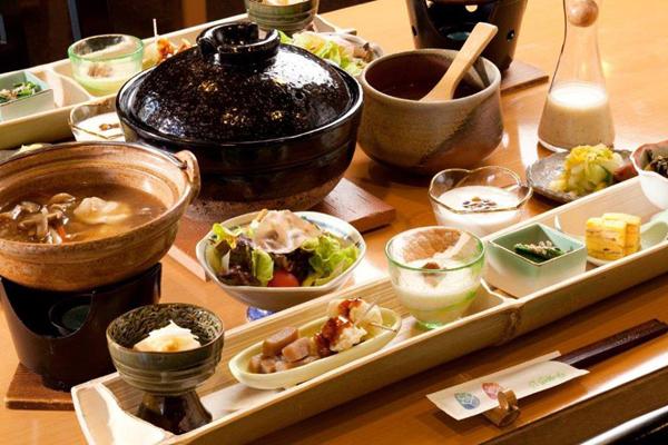 埼玉県 御宿竹取物語 食事の写真