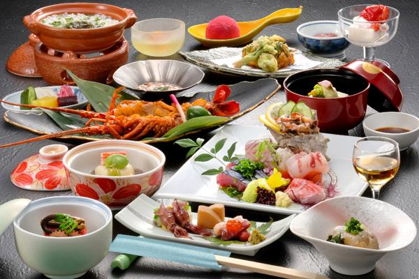 旬彩の宿 緑水亭 懐石料理