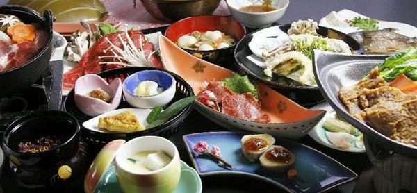 埼玉県 須崎旅館 食事の写真