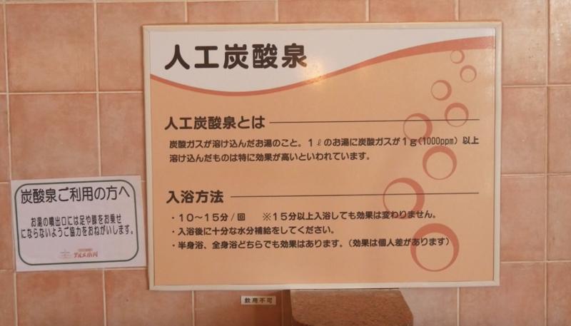 テルメ小川 人工炭酸泉