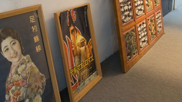 テルマエ・ロマエのポスターも置いてあった