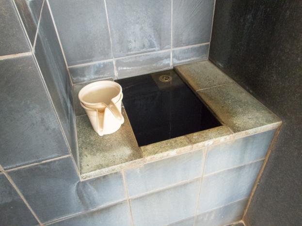 戸越銀座温泉 かけ湯