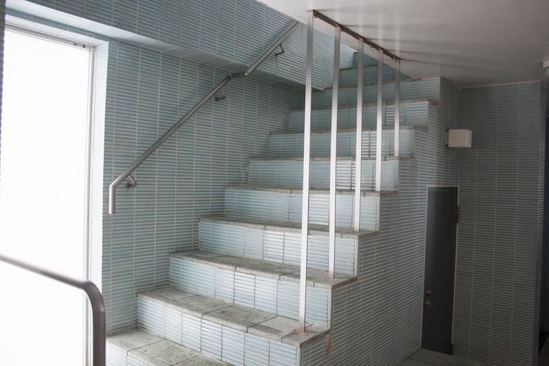 戸越銀座温泉 陽の湯 階段