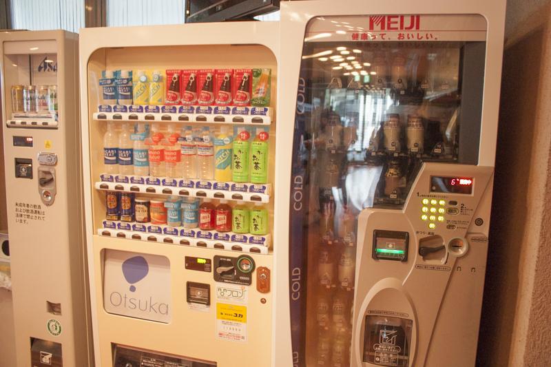 戸越銀座温泉 自動販売機