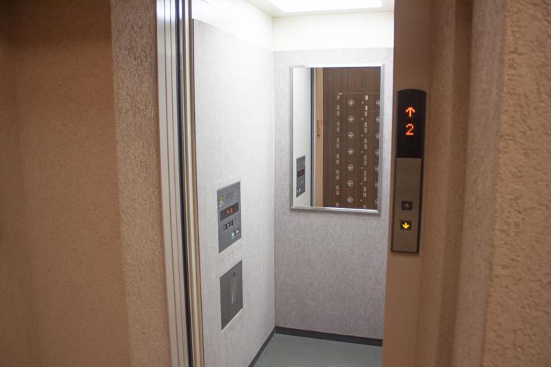 戸越銀座温泉 エレベーター