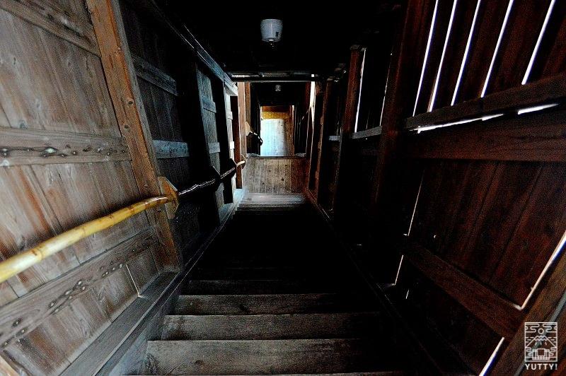 雲海閣 階段の写真