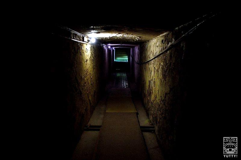 雲海閣 地下通路の写真