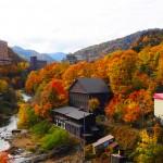 定山渓温泉の写真