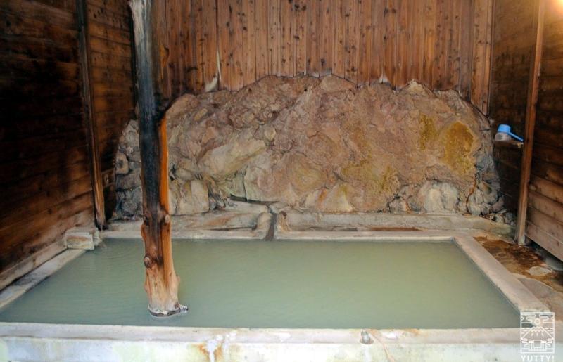 秘湯の宿 元泉館 邯鄲の湯 浴槽の写真