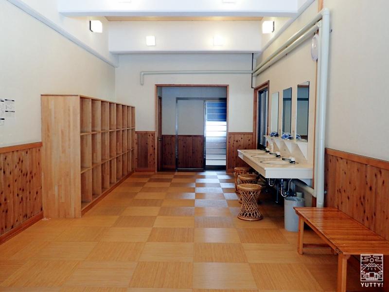 秘湯の宿 元泉館 高尾の湯 脱衣所の写真