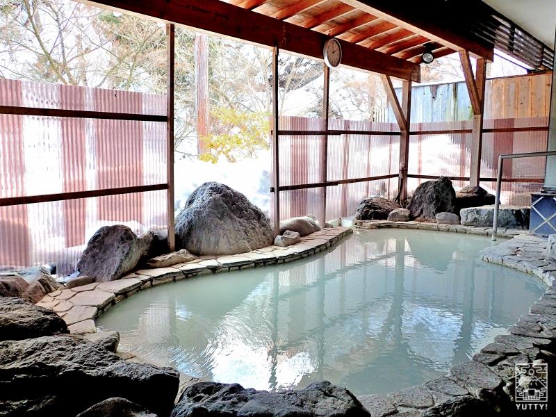 秘湯の宿 元泉館 高湯の湯 露天風呂の写真