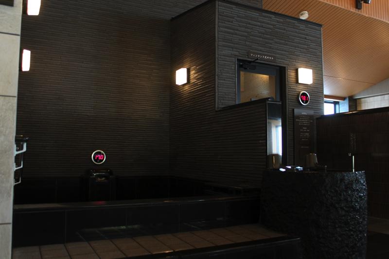 綱島温泉「綱島源泉湯けむりの庄」の水風呂の写真