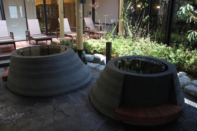 綱島温泉「綱島源泉湯けむりの庄」のつぼ湯の写真