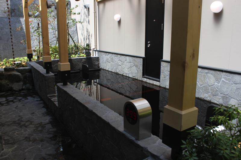 綱島温泉「綱島源泉湯けむりの庄」の寝湯の写真