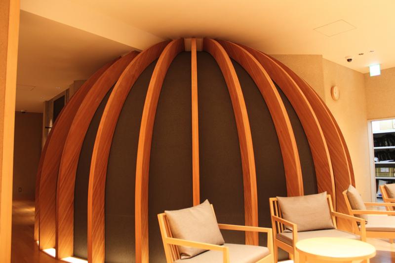 綱島温泉「綱島源泉湯けむりの庄」の岩盤浴ドームの写真