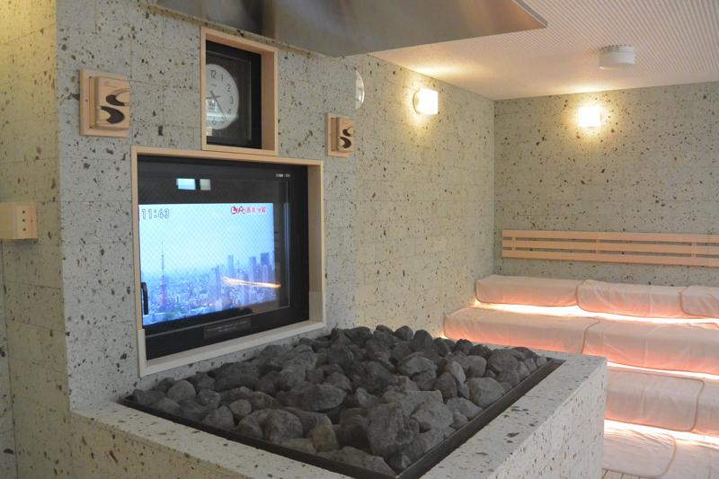 綱島温泉「綱島源泉湯けむりの庄」のサウナの写真