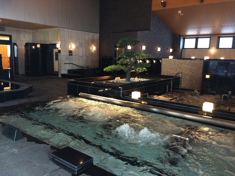 綱島温泉「綱島源泉湯けむりの庄」の大浴場の写真