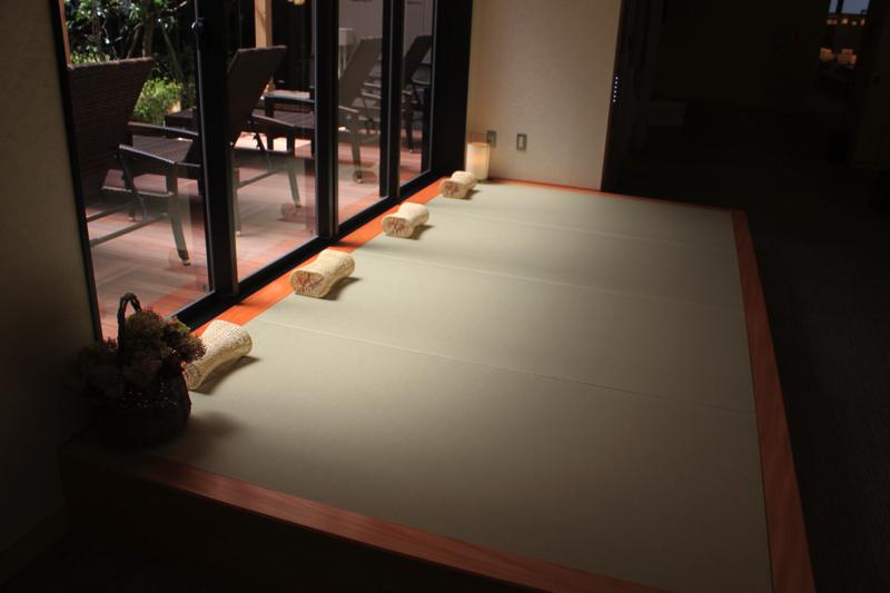 綱島温泉「綱島源泉湯けむりの庄」のうたた寝スペースの写真