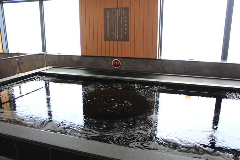綱島温泉「綱島源泉湯けむりの庄」の高濃度炭酸泉の写真