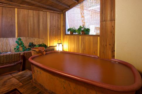 竹取亭別邸康貴の露天風呂の写真