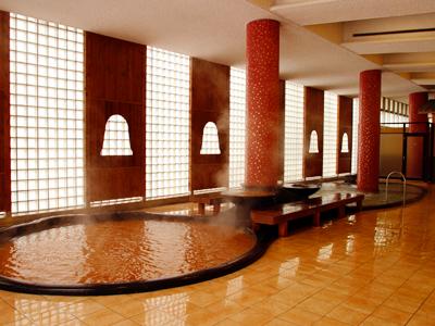 有馬温泉太閤の湯の大浴場の写真