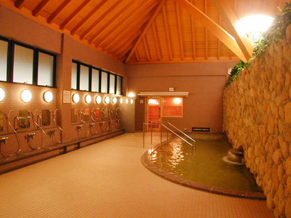 有馬温泉銀の湯の大浴場の写真