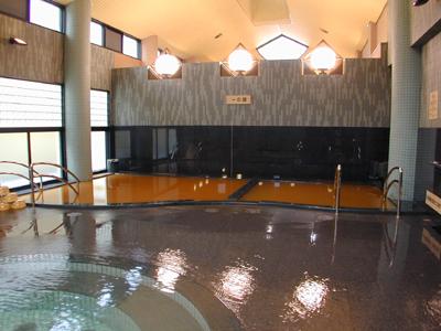 有馬温泉金の湯の大浴場の写真