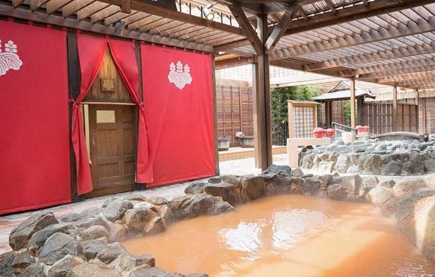 有馬温泉太閤の湯の露天風呂の写真