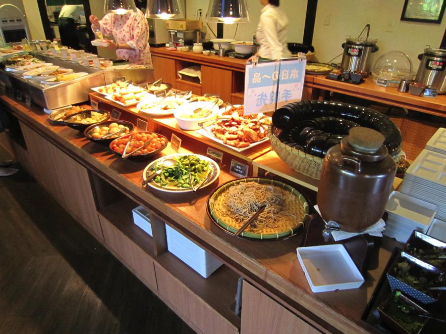 杉戸温泉「雅楽の湯」のメイン料理、蕎麦などの写真